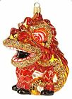Chinese New Year Dragon Asian Travel Glass Christmas Ornament Decoration 110304