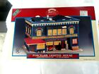 Lemax village 1998 mr c's paint & hardware Porcelain Lighted House in box rare