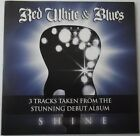 RED, WHITE & BLUES - SHINE 3-Track Classic Rock Cover CD (2012)