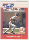 1988  DON MATTINGLY - Kenner Starting Lineup Card - NEW YORK YANKEES (EX)