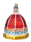 Florence Basilica Duomo Italy Travel Europe Glass Christmas Ornament 110117