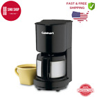 Cuisinart Coffee Maker 4 Cup Stainless Steel Carafe Non Stick Warming Plate 12v