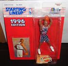 1996 NBA Starting Lineup Extended Series CHARLES BARKLEY Rockets Figure w Card