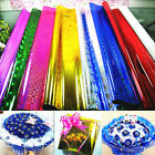 4PCS Metallic Gift Wrapping Paper Christmas Party Present Package 50x70cm Sheet