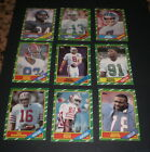 1986 TOPPS FOOTBALL CARD SET - 396 CARDS - JERRY RICE ROOKIE