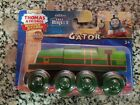 Thomas & Friends Wooden Railway Gator tank train New in sealed package