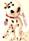 TY BEANIE BABIES 2001 COLLECTIBLE - TY STORE Rescue FDNY Dalmatian RETIRED MWMT