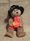 Ty Beanie Babies Plymouth Bear With Turkey in His Arms 2004/2007 on Tush Tag