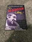 ITS SID BERNSTEIN CALLING Hardcover Signed Autobiography BOOK BEATLES RARE