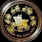 1993 Canada Proof $100 Gold Coin 100% precious metals