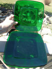Anchor Hocking CHARM Forest Green Glass 8.25