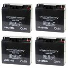 NEW 4 PACK UB12180 12V 18AH Zap Zappy 1st Generation Electric Scooter Battery