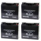 NEW 4 PACK UPG UB12180 12V 18AH Zap Zappy Classic Electric Scooter Battery