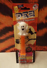 2017 Halloween GHOST PEZ Candy  Dispenser Refills Mint on card TOY COLLECT Logo