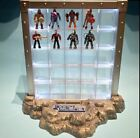 Nano Display for Small Action Figures Metalfigs Scene Die Cast Light Up Pedestal