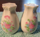 Salt  Pepper Shaker Sets 25 White With Floral Pattern