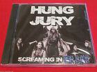 HUNG JURY - SCREAMING IN BLUE - NEW CD
