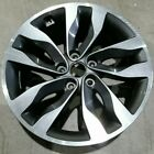 2014 2015 Kia Optima Alloy 18 Wheel 74706 Rim 18 Gray Machined OEM 529102T570