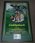 Bill Murray Signed Framed 27x43 Caddyshack Poster Photo Display PSA DNA