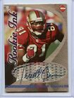TERRELL OWENS ( 1998 ) COLLECTORS EDGE ROOKIE INK AUTO AUTOGRAPH CARD 49ERS WR