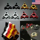 US 17mm Motorcycle CNC Hexagon Fork Preload Adjusters for Ducati 999 R 2004 2003