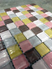 Square Random Color Crystal Glass Mosaic Wall Tile