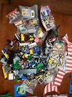 VINTAGE LEGO PIRATE SETS LOT 50 MINI FIGURES ACCESSORIES GUN SWORD AXE SPEAR
