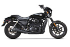 TWO BROTHERS COMP S FULL EXHAUST BLACK MEGAPHONE HARLEY STREET 750 500 2015 19