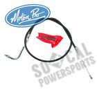 1990-1993 Harley-Davidson FXRS-Conv Low Rider Convertible Black Idle Cable