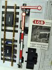 LGB 5094 Twin Arm Track Signal with Relay and Track Contact Set C 9 Condition