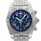 Breitling Chronomat AB0110 in Stainless Steel, Blue dial 47 mm Automatic watch