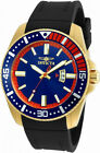 Invicta Pro Diver 21447 Men's Navy Blue Coral Gold Tone Analog Date Watch