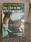 Nancy Drew The Clue In The Old Stagecoach 1960 First Edition