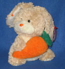 TY VEGGIES the RABBIT  BEANIE BABY - MINT with MINT TAG