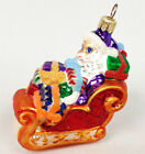 Santa In Sleigh With Gifts 3.5