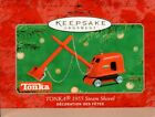 2001 Hallmark Keepsake Ornament: Tonka 1955 Steam Shovel New!