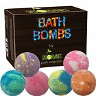 Bath Bombs Gift Set By Sky Organics, 6 X 5 Oz Ultra Lush Huge Kit, Best For With