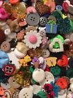Grab Bag Lot 100 Mixed Buttons Sewing Crafts  Scrapbooking Vintage  New