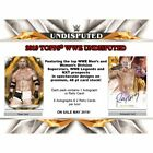 2019 TOPPS WWE UNDISPUTED WRESTLING HOBBY SEALED BOX - PRE-ORDER!