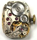 GIRARD PERREGAUX WRIST WATCH MOVEMENT 17 JEWELS FOR PARTS/REPAIRS #A796