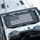 Front Eclipse Mesh Sun Shade Top Protection Cover for Jeep Wrangler JL 2 4 Doors