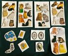 Vintage Puffy Stickers Animal Lot Imperial New Old Stock Collectible 1980s