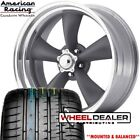 17 AMERICAN RACING TORQUE THRUST WHEELS TIRES FORD MUSTANG 1965 1966 1967 1968