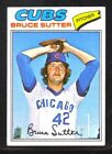 Bruce Sutter Cards, Rookie Card and Autographed Memorabilia Guide 10