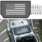 Mesh Sun Shade Soft Top Protection Cover for Jeep Wrangler JL 2/4 Door 2018 2019