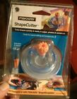 New Fiskars Shape Cutter Circle Cutting Tool with 2 Replacement Blades 4800