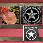 GUNFIRE 76 Casualties & Tragedies  Used CD With New Gunfire 76 Patch