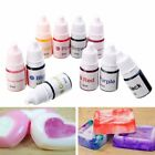 10 Colors 6ML Dyes Soap Making Coloring Colorants Kit for DIY Bath Bomb