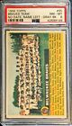 1956 TOPPS Milwaukee Braves Team Name Left No Date #95 PSA 8 NM MT