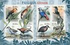 Mozambique Extinct Birds on Stamps 8 Stamp Sheet 13A 968